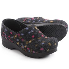 Dansko Felt Pro Clogs (For Women) in Charcoal Multi - Closeouts