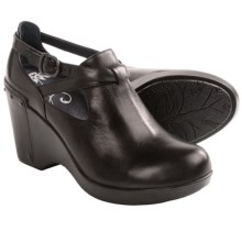 Dansko Franka Wedge Ankle Boots (For Women) in Black - Closeouts