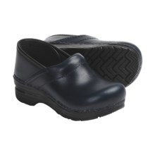 Dansko Gitte Clogs (For Girls) in Indigo Pull Up Leather - Closeouts