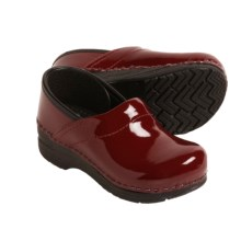 Dansko Gitte Clogs (For Girls) in Red Patent Leather - Closeouts