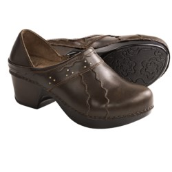 Dansko Hailey Shoes - Leather, Slip-Ons (For Women) in Brown Oiled