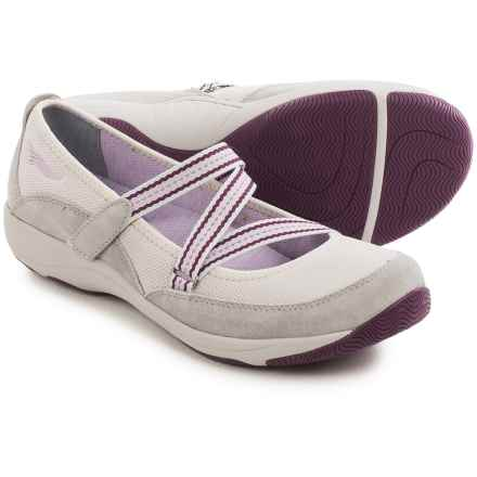 Dansko Hazel Mary Jane Shoes - Suede (For Women) in Grey - Closeouts