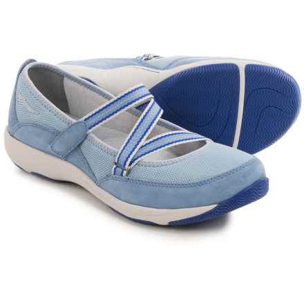 Dansko Hazel Mary Jane Shoes - Suede (For Women) in Light Blue - Closeouts