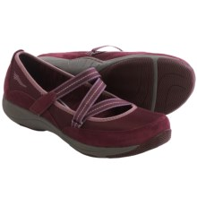 Dansko Hazel Mary Jane Shoes - Suede (For Women) in Wine Suede - Closeouts