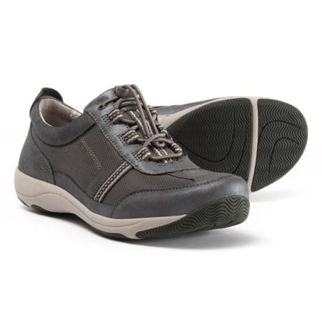 2d4295a2c708 Dansko Helen Lace Shoes - Suede (For Women) in Charcoal Metallic