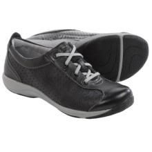 Dansko Hillary Lace Shoes - Leather (For Women) in Black Leather - Closeouts