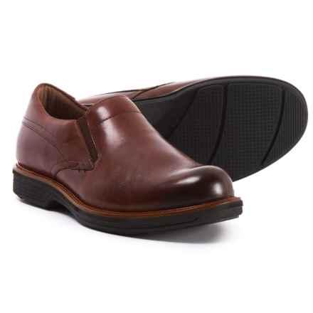 Dansko Jackson Shoes - Slip-Ons (For Men) in Mahogany Antiqued Calf - Closeouts