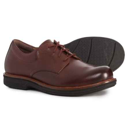 Dansko Josh Plain Toe Oxford Shoes (For Men) in Mahogany Antiqued Calf - Closeouts