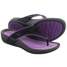 Dansko Katy Flip-Flops (For Women) in Black/Orchid - Closeouts
