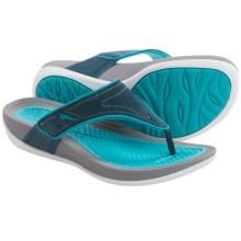Dansko Katy Flip-Flops (For Women) in Navy/Aqua - Closeouts