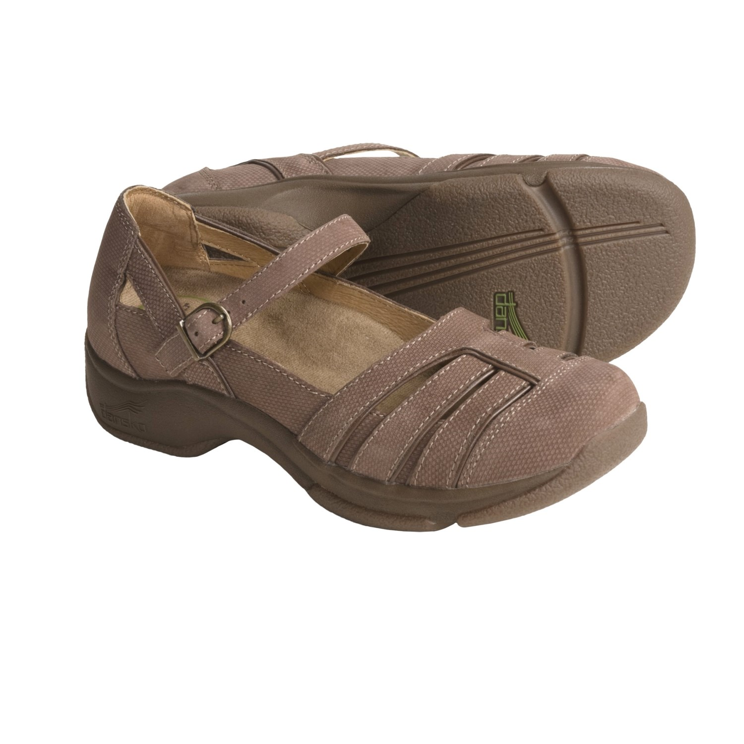 Dansko Kiera Shoes - Slip-Ons (For Women) in Latte