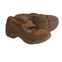 Dansko Kiki Mary Jane Shoes - Leather (For Women) in Chocolate Nubuck - Closeouts