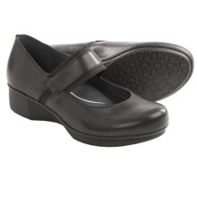 Dansko Lori Mary Jane Shoes - Leather (For Women) in Black - Closeouts