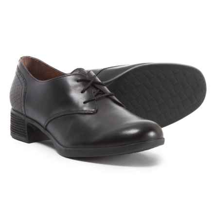 Dansko Louise Oxford Shoes (For Women) in Black Antiqued Calf - Closeouts