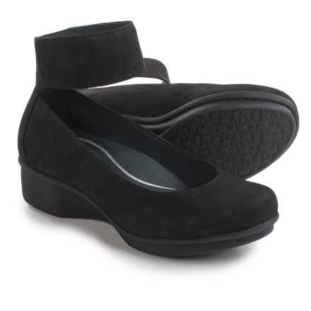 Dansko Lulu Nubuck Shoes (For Women) in Black Nubuck - Closeouts