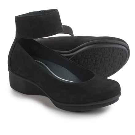 Dansko Lulu Nubuck Shoes (For Women) in Black Nubuck - Closeouts