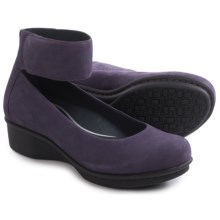 Dansko Lulu Nubuck Shoes (For Women) in Plum Nubuck - Closeouts