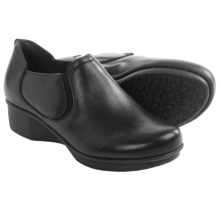 Dansko Lynn Leather Shoes (For Women) in Black Nappa - Closeouts