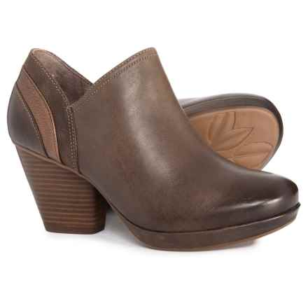 Dansko Marcia Ankle Shooties - Leather (For Women) in Teak Burnished Nubuck