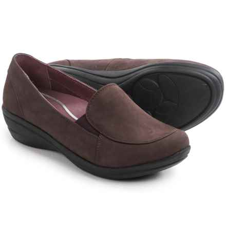 Dansko Marianne Shoes - Nubuck, Slip-Ons (For Women) in Brown Nubuck - Closeouts
