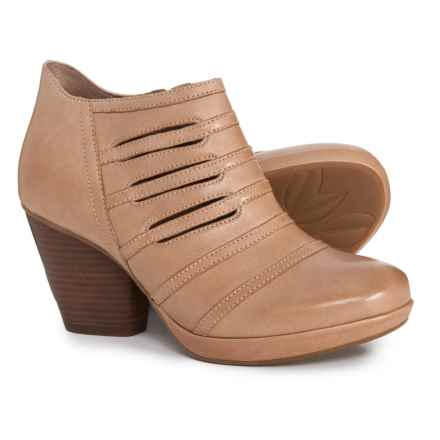 Dansko Meadow Ankle Boots - Leather (For Women) in Sand Nubuck