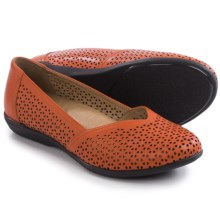 Dansko Neely Shoes - Leather (For Women) in Tangerine Nappa - Closeouts
