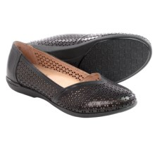 Dansko Neely Shoes - Leather, Slip-Ons (For Women) in Black Nappa - Closeouts