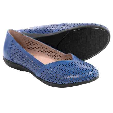 Dansko Neely Shoes - Leather, Slip-Ons (For Women) in Cobalt Nappa - Closeouts