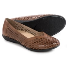 Dansko Neely Shoes - Leather, Slip-Ons (For Women) in Toffee Nappa - Closeouts