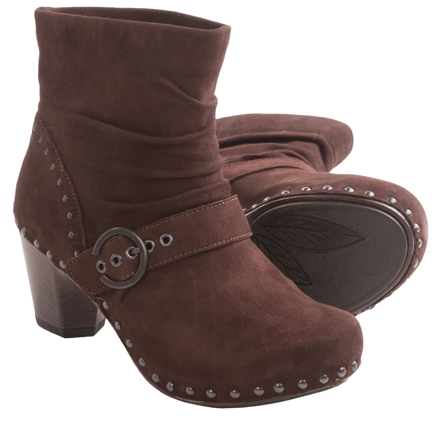 dansko ankle boots for in chocolate kid suede
