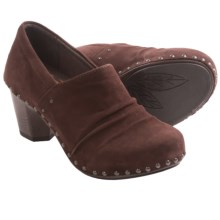 Dansko Nori Shoes - Kid Suede (For Women) in Chocolate Kid Suede - Closeouts