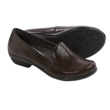 Dansko Olivia Shoes - Leather, Slip-Ons (For Women) in Brown Cobblestone - Closeouts
