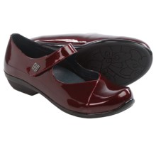 Dansko Opal Mary Jane Shoes - Leather (For Women) in Black Cherry Patent - Closeouts