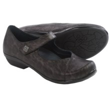 Dansko Opal Mary Jane Shoes - Leather (For Women) in Metallic Leopard - Closeouts