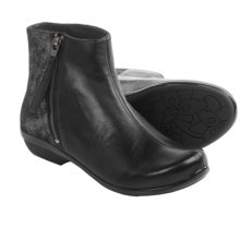 Dansko Otis Ankle Boots - Leather (For Women) in Black Nappa - Closeouts