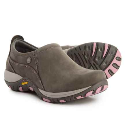 Dansko Patti Shoes - Nubuck (For Women) in Grey Milled Nubuck - Closeouts