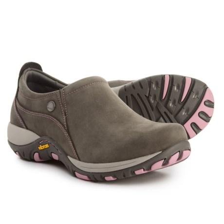 Dansko Patti Shoes - Nubuck (For Women) in Grey Milled Nubuck