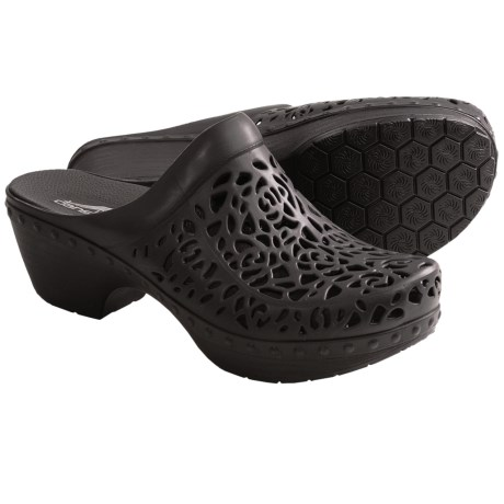 Dansko Pippa Open-Back Clogs (For Women) in Black