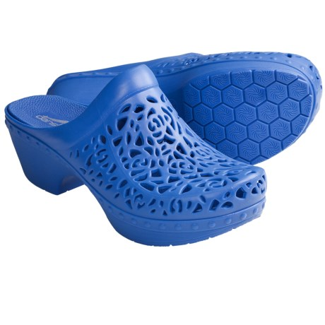 Dansko Pippa Open-Back Clogs (For Women) in Blue