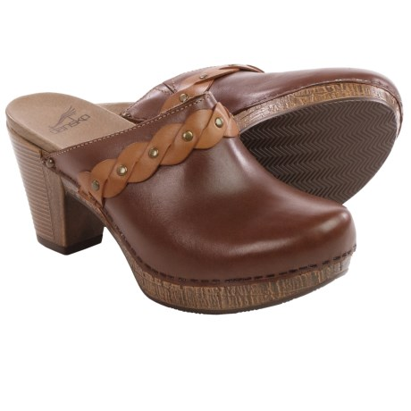 Dansko Rach Leather Clogs (For Women)