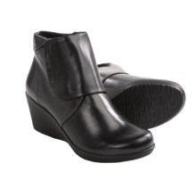 Dansko Romy Boots - Pull-Ons (For Women) in Black - Closeouts