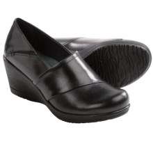 Dansko Rosaline Wedge Shoes (For Women) in Black - Closeouts