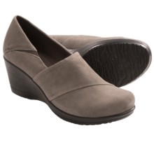 Dansko Rosaline Wedge Shoes (For Women) in Slate Suede - Closeouts