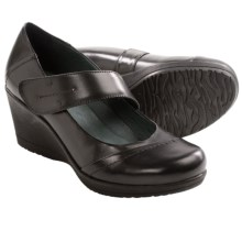 Dansko Ruby Wedge Mary Jane Shoes (For Women) in Black - Closeouts
