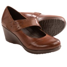 Dansko Ruby Wedge Mary Jane Shoes (For Women) in Brown - Closeouts