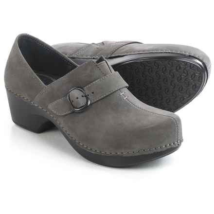 Dansko Tamara Shoes - Leather (For Women) in Grey Nubuck - Closeouts