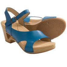 Dansko Tasha Ankle Strap Sandals (For Women) in Sky - Closeouts