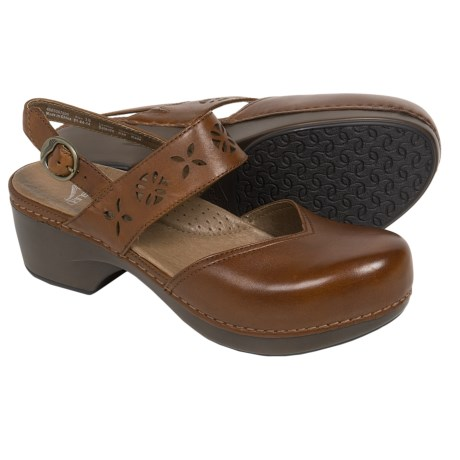 Dansko Trista Closed-Back Clogs - Leather (For Women)
