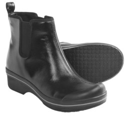 Dansko Vail Rain Boots - Waterproof (For Women) in Black Coated