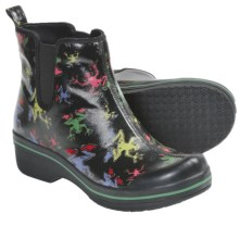 Dansko Vail Rain Boots - Waterproof (For Women) in Black Frog - Closeouts